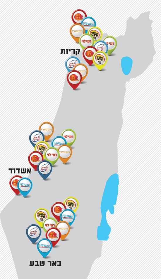 מפה רשתות קטנות